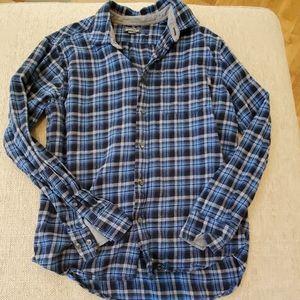 Eddie Bauer Flanel Shirt Men's Size Large